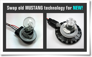 Swap out old Mustang bulb technology