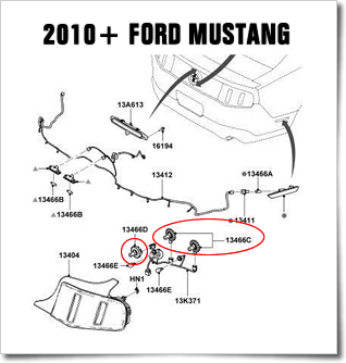 2005 2009 mustang sequential led tail light kit by monzter 89 Ford Mustang Wiring Schematics Hazard Light Wiring Diagram