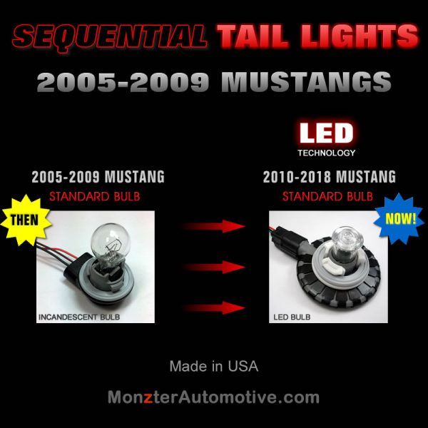 2005-2009 Mustang LED Sequential Bulbs Used