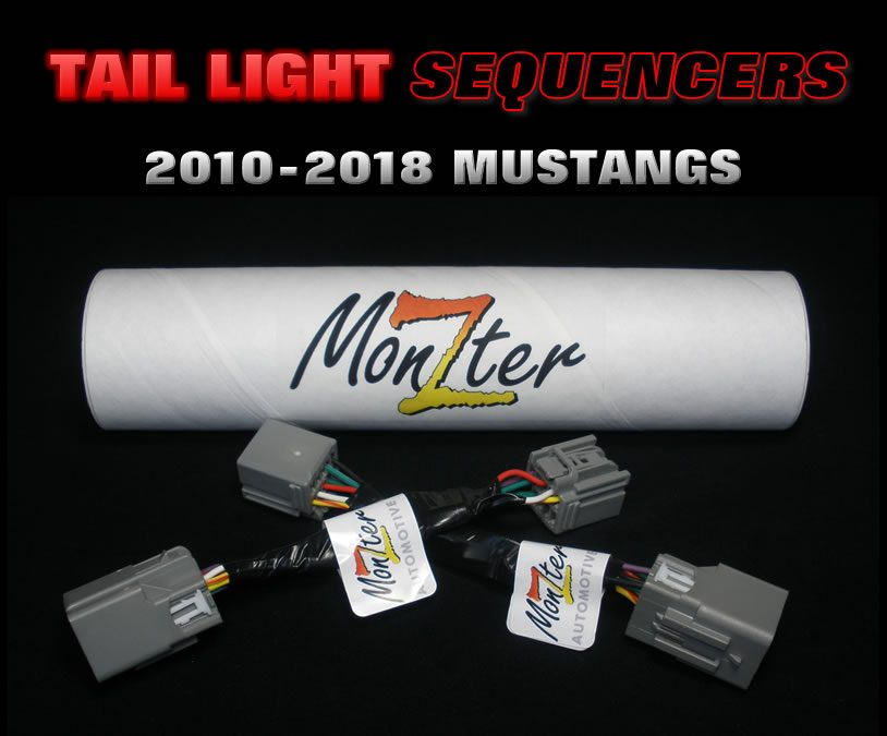 2010-2018 Mustang Sequential Tail Lights kit