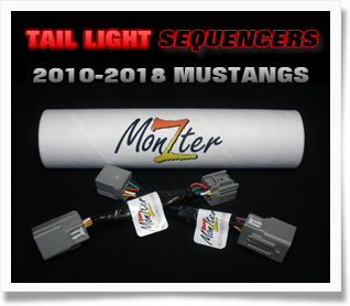 2010-2018 Mustang Sequential Tail Light Sequencers